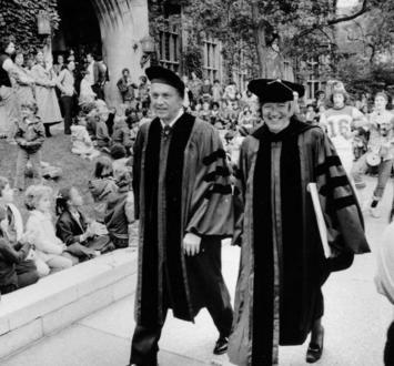 'A place of distinction': Revisiting the history of presidential inaugurations at UChicago